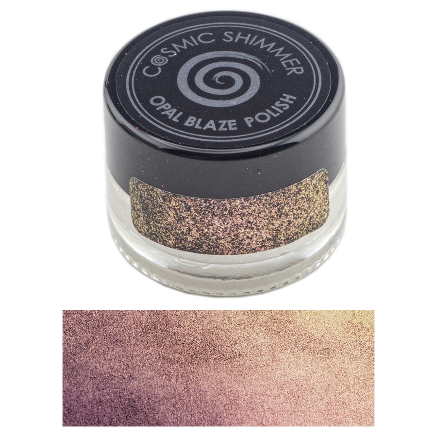 Cosmic Shimmer - Opal Blaze Polish 7g - Golden Blackberry