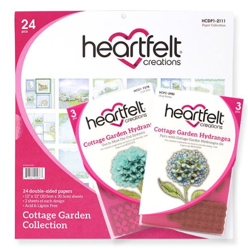 Heartfelt Creations - Cottage Garden Creative Essentials - HCCE1-656