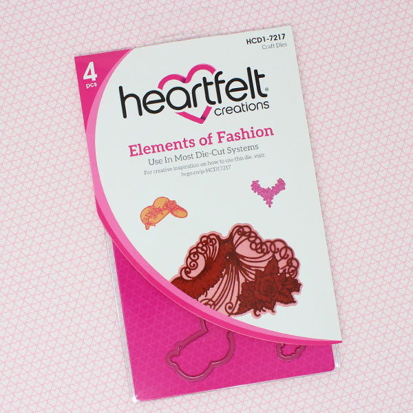 Heartfelt Creations - Elements of Fashion Die - (HCD1-7217)