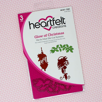 Heartfelt Creations - Glow of Christmas Die - HCD1-7251