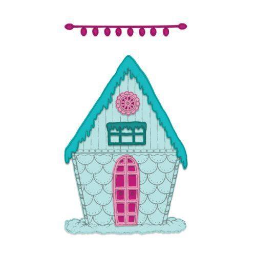 Heartfelt Creations - Candy Cane Cottage Die - HCD1-7253