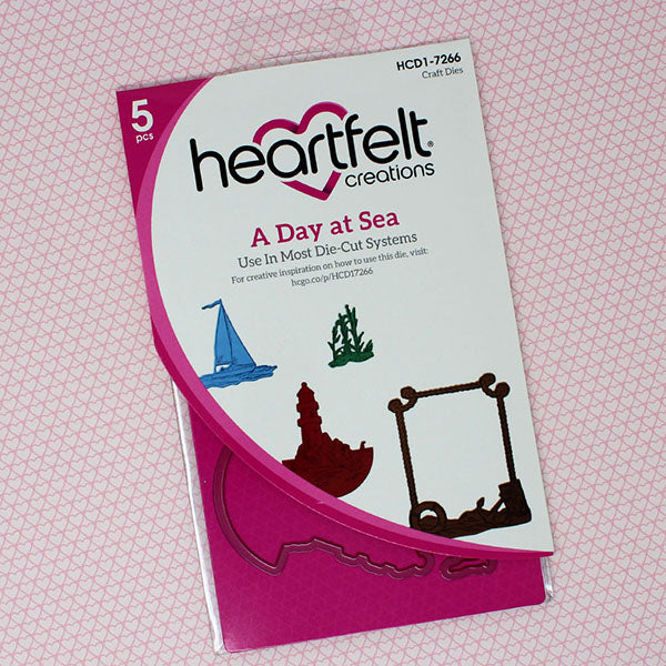 Heartfelt Creations - A Day at Sea Die - HCD1-7266
