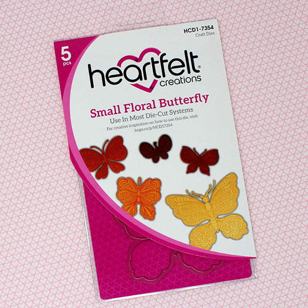 Heartfelt Creations - Small Floral Butterfly Die - HCD1-7354