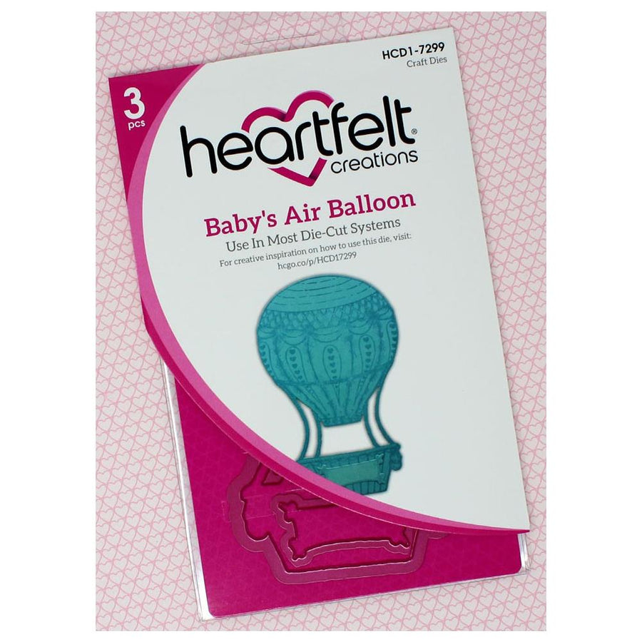 Heartfelt Creations - Baby's Air Balloon Die - HCD1-7299