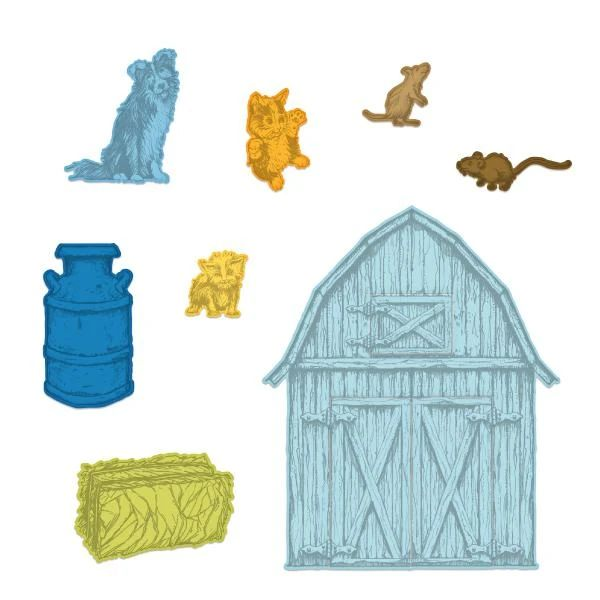 Heartfelt Creations - Home On The Farm Die - HCD1-7316