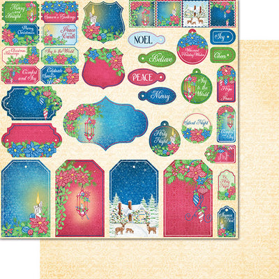 Heartfelt Creations - Candlelit Christmas Paper Collection - HCDP1-2104