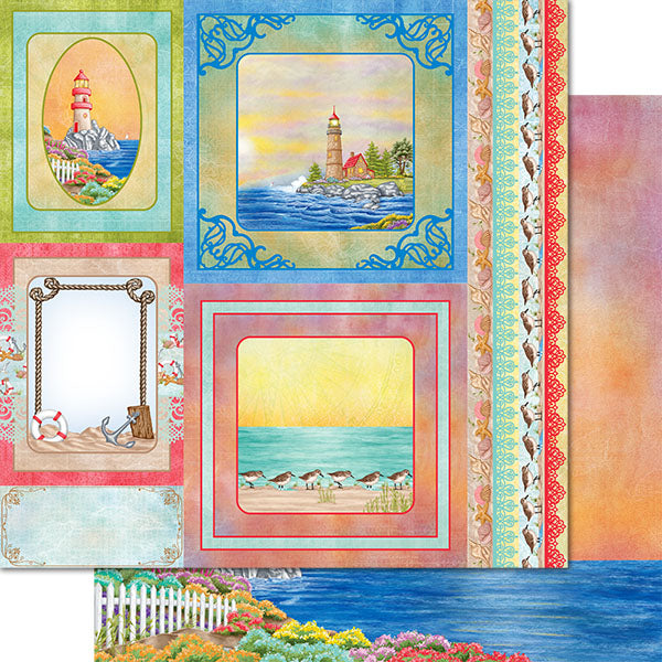 Heartfelt Creations - Sea Breeze Paper Collection - HCDP1-2107