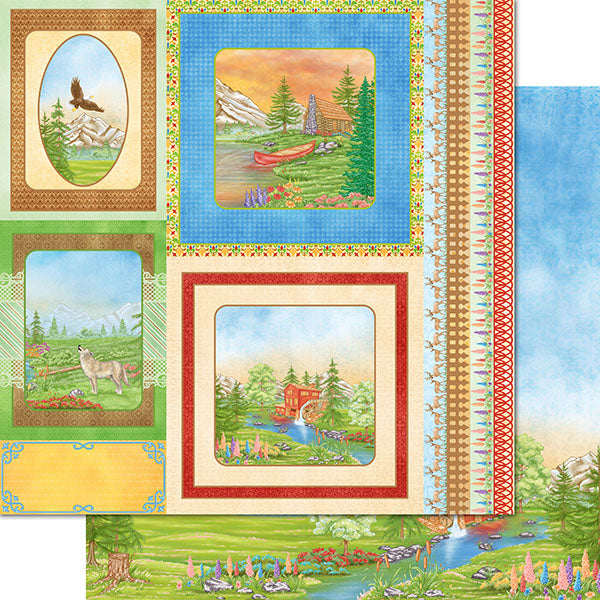 Heartfelt Creations - Wilderness Retreat Paper Collection - HCDP1-2108