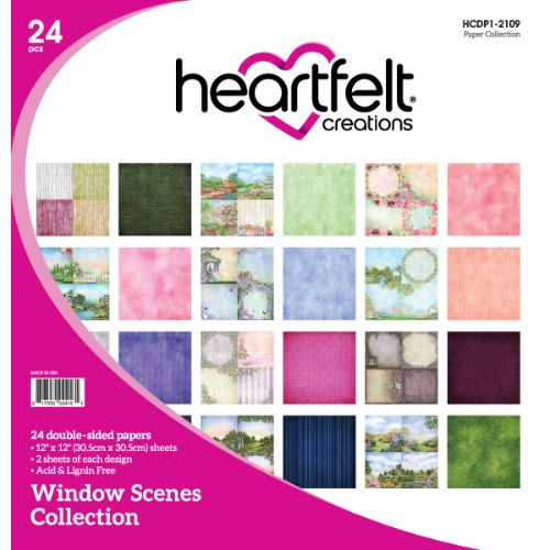 Heartfelt Creations - Window Scenes Paper Collection - HCDP1-2109