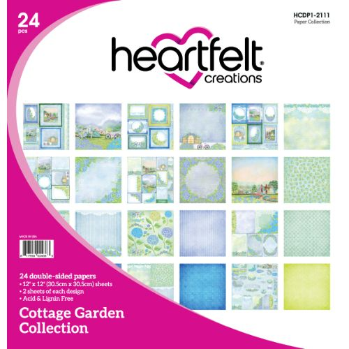 Heartfelt Creations - Cottage Garden Paper Collection - HCDP1-2111