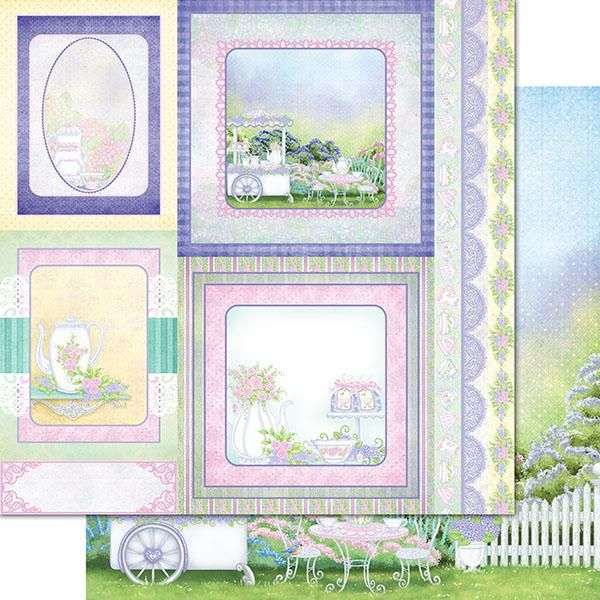 Heartfelt Creations - Tea Time Paper Collection - HCDP1-2112