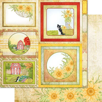 Heartfelt Creations - Home On The Farm Paper Collection - HCDP1-2120