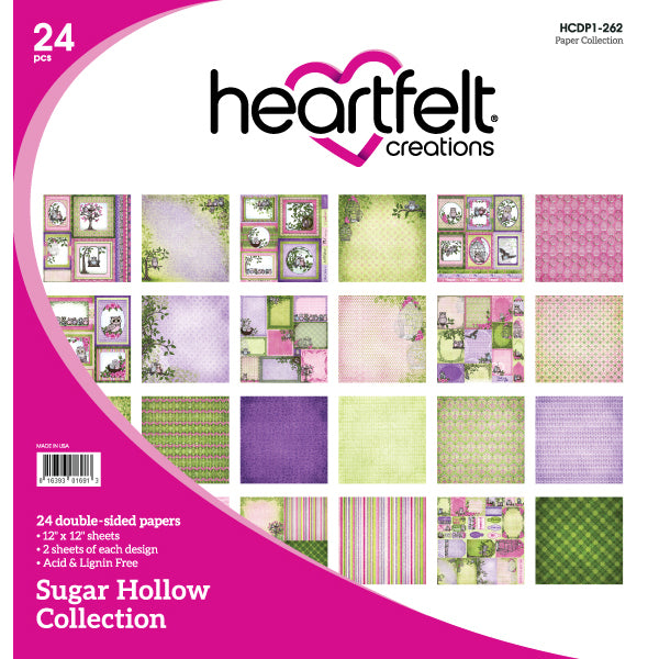 Heartfelt Creations: Sugar Hollow Paper Collection