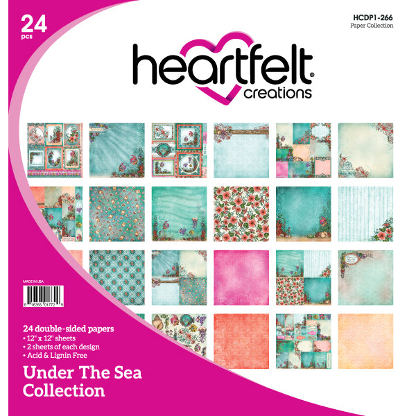 Heartfelt Creations: Under The Sea Paper Collection