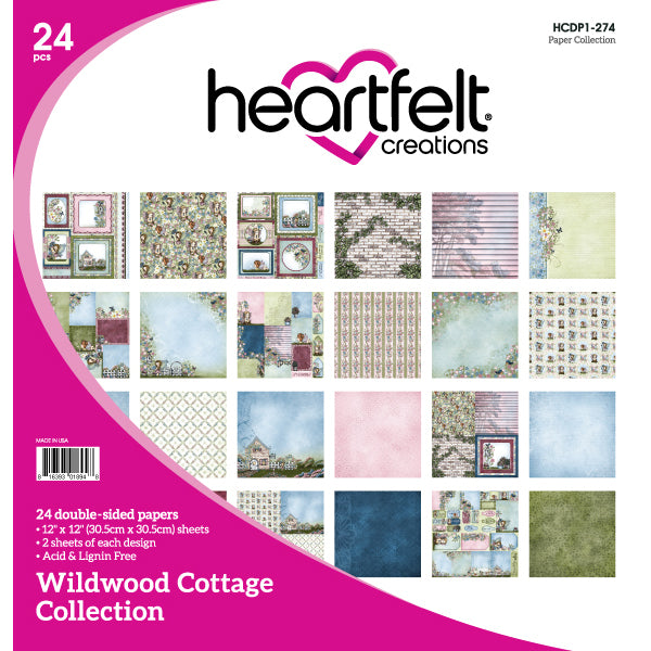 Heartfelt Creations: Wildwood Cottage Paper Collection