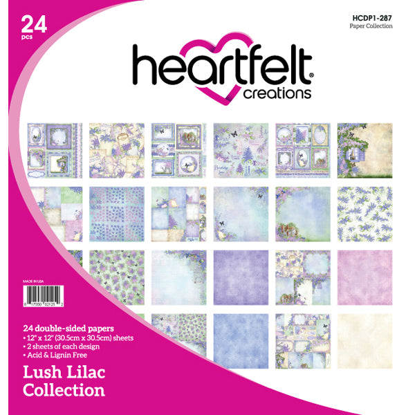 Heartfelt Creations: Lush Lilac Paper Collection - (HCDP1-287)