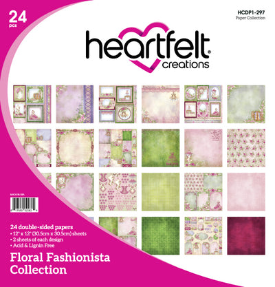 Heartfelt Creations - Floral Fashionista Creative Essentials - (HCCE1-643)