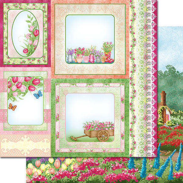 Heartfelt Creations - Tulip Time Paper Collection - HCDP1-298