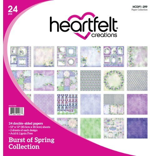 Heartfelt Creations - Burst of Spring Paper Collection - HCDP1-299