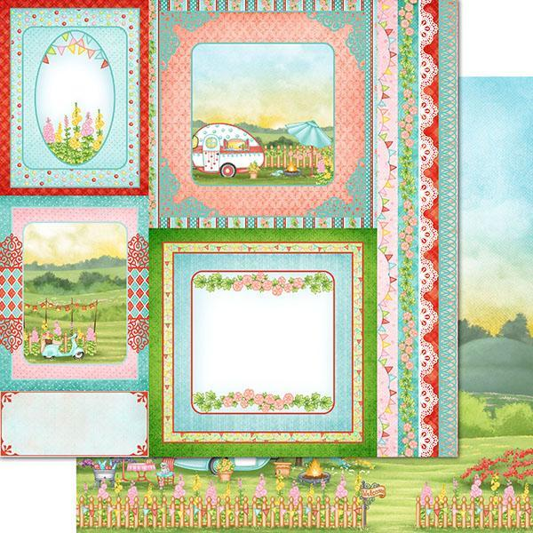 Heartfelt Creations - Happy Camper Paper Collection - HCDP1-2103