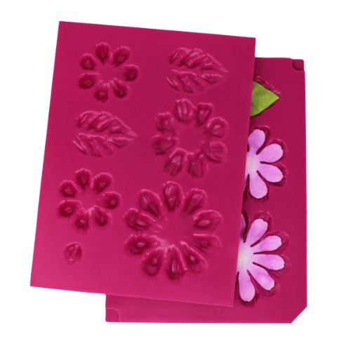 Heartfelt Creations - Small 3D Zinnia Shaping Mold - HCFB1-492
