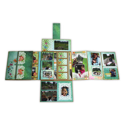 "Heartfelt Creations 12"" x 12"" Insta-Album - Kraft (HCIA1-470)"