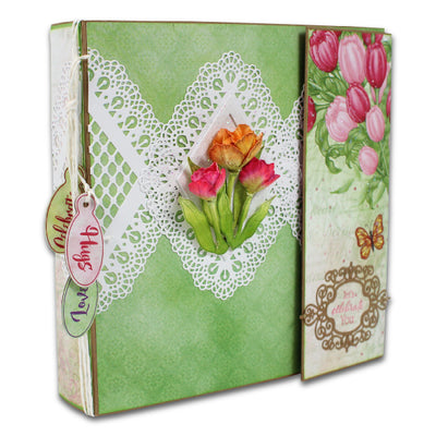 "Heartfelt Creations 8"" x 8"" Insta-Album - Kraft (HCIA2-477)"