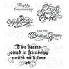 Heartfelt Creations Stamp: Classic Wedding Wishes (HCPC-3790)