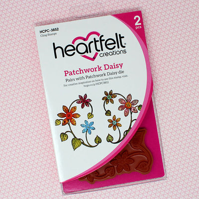Heartfelt Creations - Patchwork Daisy Creative Essentials (HCCE1-642)