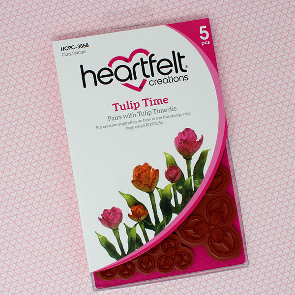 Heartfelt Creations - Tulip Time Stamp Set - HCPC-3858