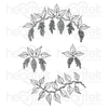 Heartfelt Creations - Cascading Wisteria Cling Stamp Set - HCPC-3912