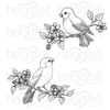 Heartfelt Creations - Floral Song Cling Stamp Set - HCPC-3913
