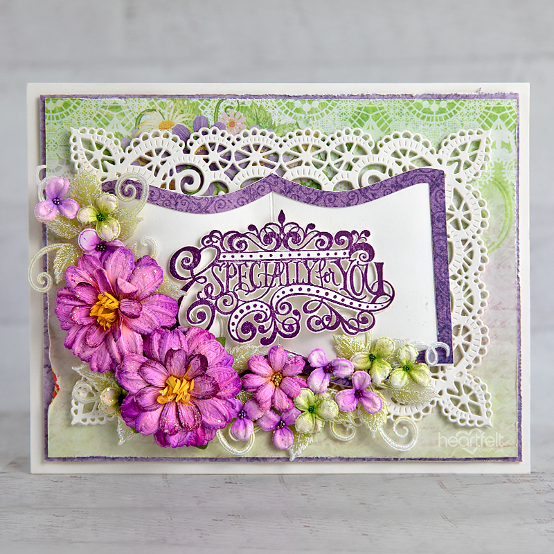 Heartfelt Creations - Special Sentiments - Elegant Especially for You Die -  HCD1-7319