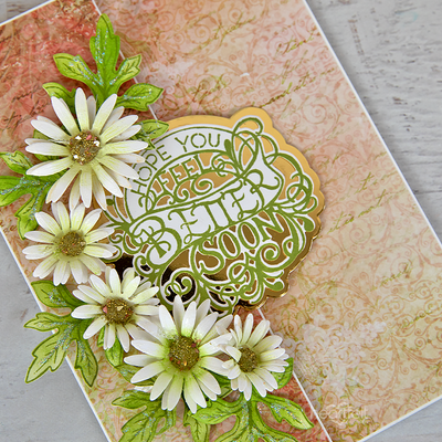 Heartfelt Creations - Special Sentiments - Elegant Especially for You Cling Stamp Set -  HCPC-3934