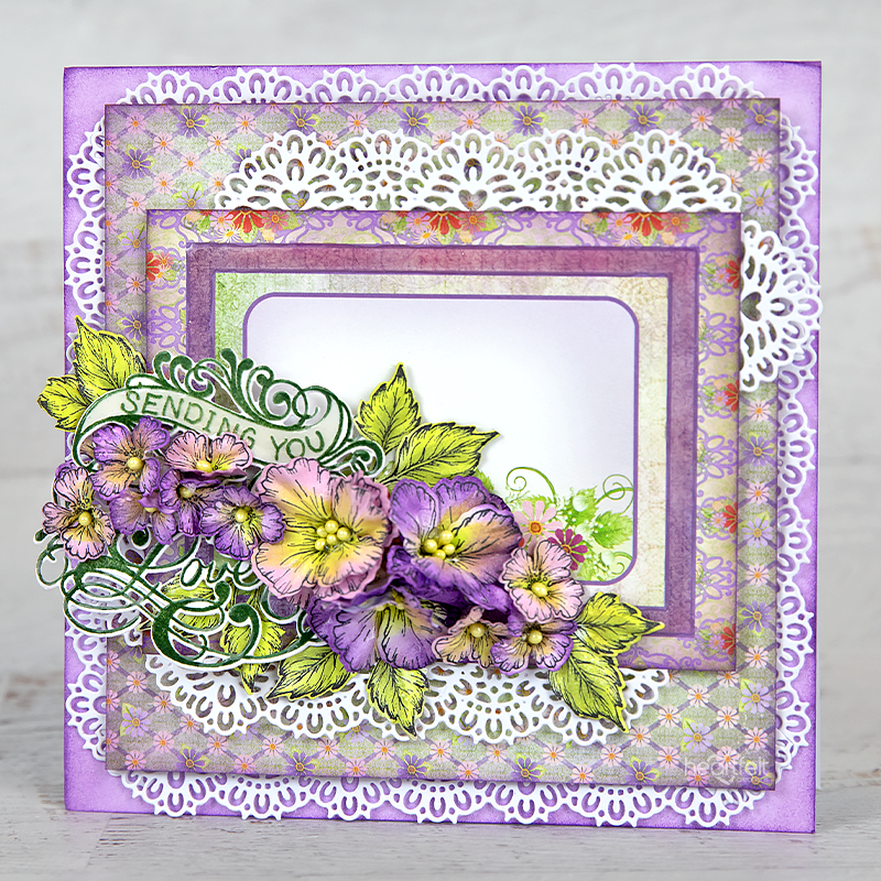 Heartfelt Creations - Special Sentiments - Ornate Just for You Die -  HCD1-7321