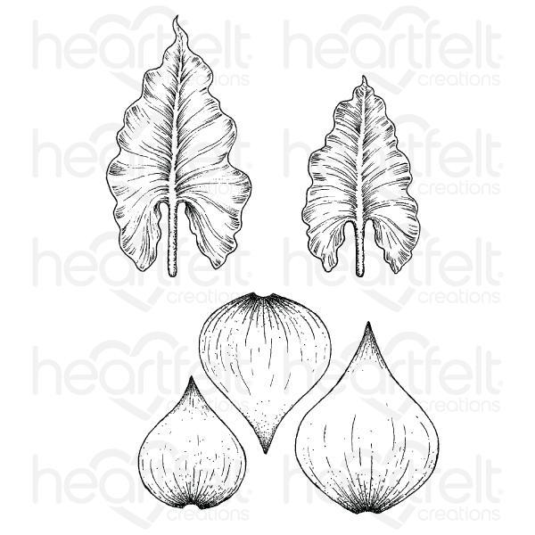 Heartfelt Creations - Calla Lily Cling Stamp Set - HCPC-3897
