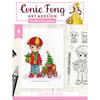 Conie Fong Photopolymer Stamp - Benny's Christmas