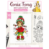 Conie Fong Photopolymer Stamp - Molly's Joy