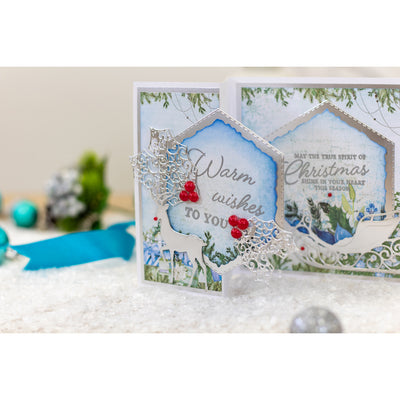 Crafters Companion - Sentiment & Verses Clear Stamps - Warm Wishes
