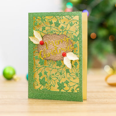 Gemini Die by Crafters Companion - Create a Card - Flourishing Ivy