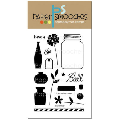 Paper Smooches Stamp - Crystal Clear