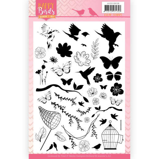Jeanine's Art - Happy Birds - Clear Stamps