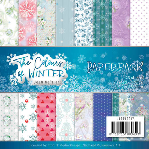 Jeanine's Art - The Colours of Winter - Paper Pack