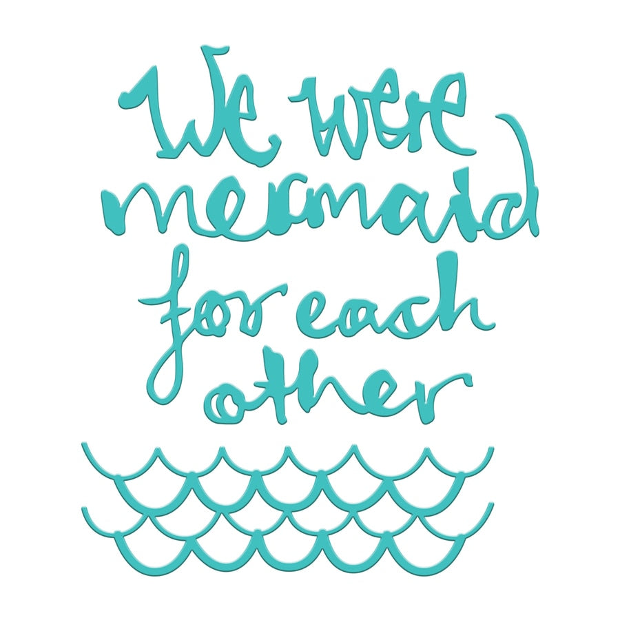 Spellbinders Die - Jane Davenport - Artomology - Mermaid for Each Other