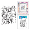 Spellbinders Stamp - Jane Davenport - Artomology - Girl Group