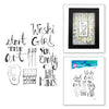 Spellbinders Stamp - Jane Davenport - Artomology - Crafty Minx