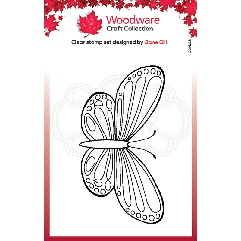 Woodware Clear Singles Mini Wings - Common Blue - JGM012