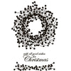 Woodware Stamps Clear Singles - Berry Wreath - JGS468