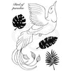 Woodware Clear Singles - Paradise Bird - JGS693