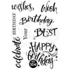 Woodware Clear Singles - A Birthday Moment - JGS718